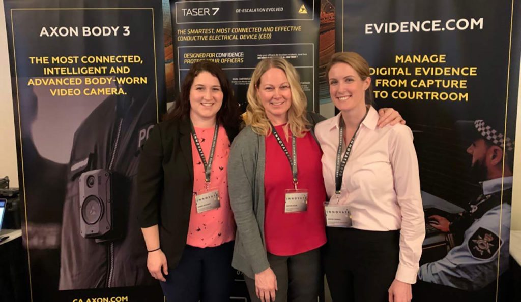 BCWLE Axon Supports Women In Law Enforcement Across Canada
