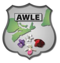 AWLE Atlantic Women in Law Enforcement logo